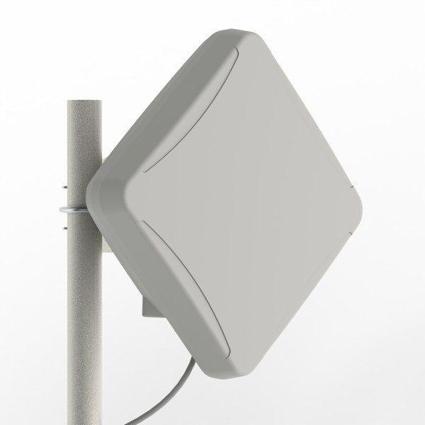 Антенна MIMO с боксом для модема 3G/4G LTE (1700-2700 МГц) 14-15 дБ