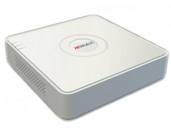 Видеорегистратор гибридный HD-TVI 4-канальный HiWatch DS-H104G