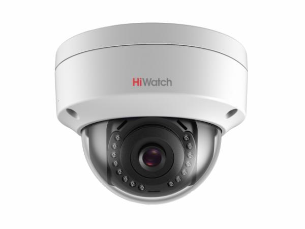 Купольная IP-видеокамера HiWatch DS-I102 с ИК подсветкой