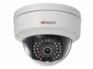 Купольная IP-видеокамера HiWatch DS-I122 с ИК подсветкой