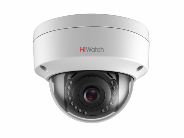 Купольная IP-видеокамера HiWatch DS-I202 (2.8mm) с ИК подсветкой