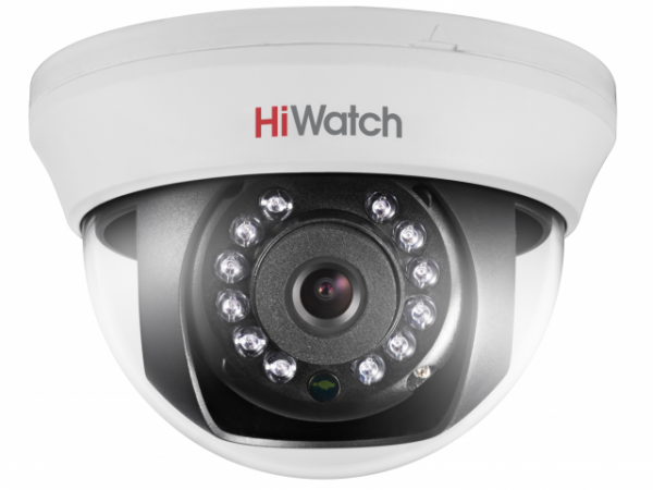 Панорамная HD-TVI видеокамера HiWatch DS-T101 с ИК-подсветкой