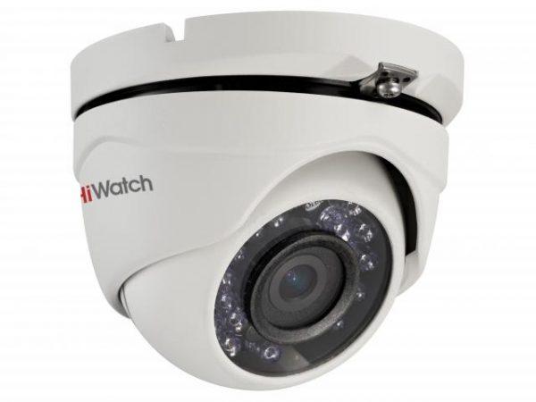 Панорамная уличная HD-TVI видеокамера HiWatch DS-T103 с ИК-подсветкой