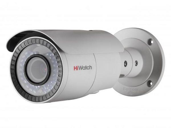 Цилиндрическая HD-TVI видеокамера HiWatch DS-T206 с ИК подсветкой