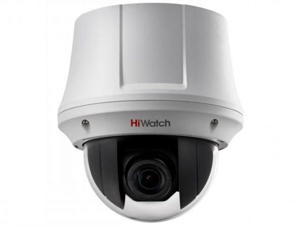 Скоростная поворотная PTZ HD-TVI видеокамера HiWatch DS-T245