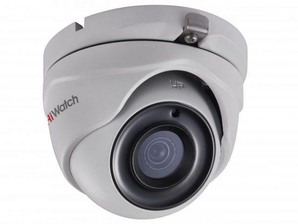 Купольная IP-видеокамера HiWatch DS-T303 с EXIR подсветкой