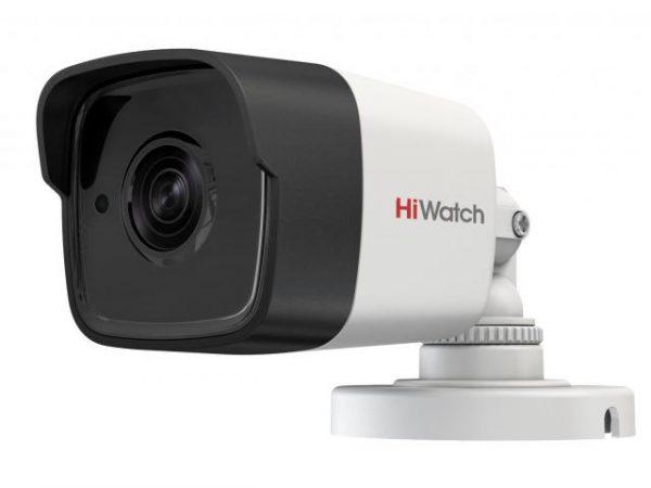 Цилиндрическая HD-TVI видеокамера HiWatch DS-T500 (B) с ИК подсветкой