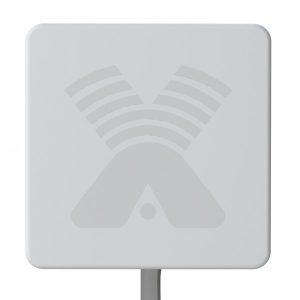 Антенна панельная MIMO 3G/4G LTE, 15-17,5 дБи (1700-2700 МГц)