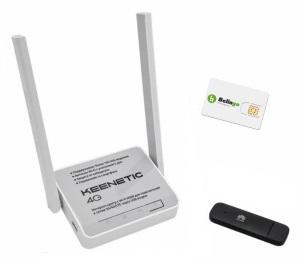 Роутер keetetic 4g плюс модем плюс сим карта - минимальный комплект интернета для дачи, офиса, магазина, склада, квартиры